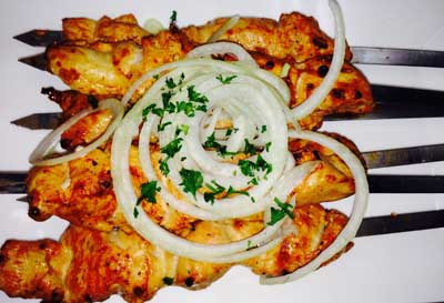 Boneless Chicken-Kebab (Breast) (600 cal.)