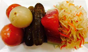"Pickled Vegetables ""Assorti"" (120 cal.)"