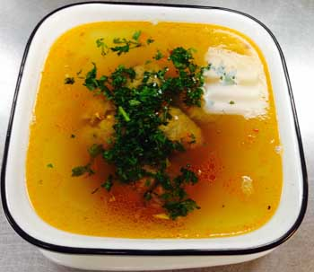 Broth with Quenelles
